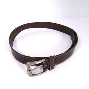 Cole Haan brown genuine leather belt